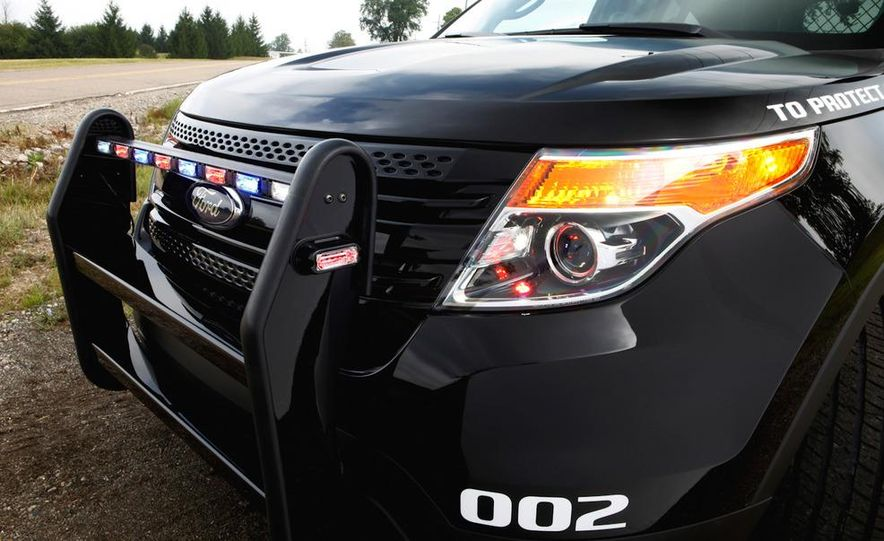 2012 Police Interceptor Utility and Ford Police Interceptor - Slide 64
