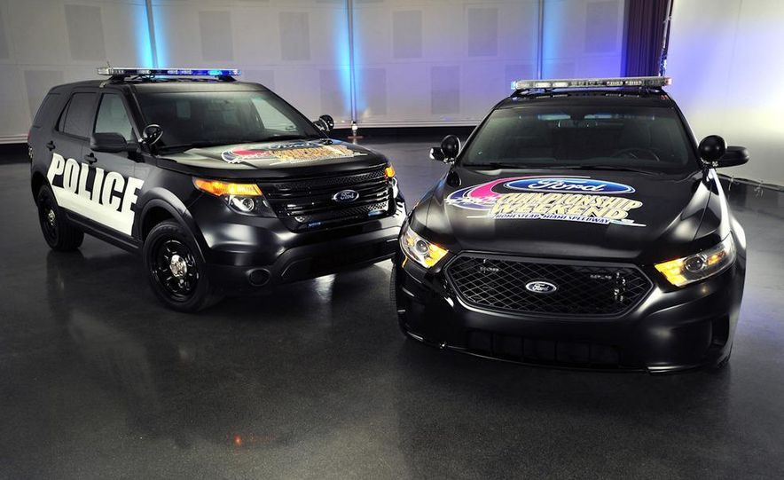 2012 Police Interceptor Utility and Ford Police Interceptor - Slide 2