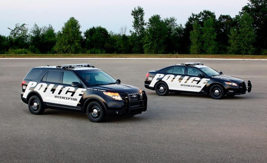 2012 Police Interceptor Utility and Ford Police Interceptor - Slide 4