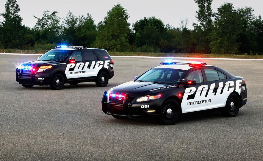 2012 Police Interceptor Utility and Ford Police Interceptor - Slide 5