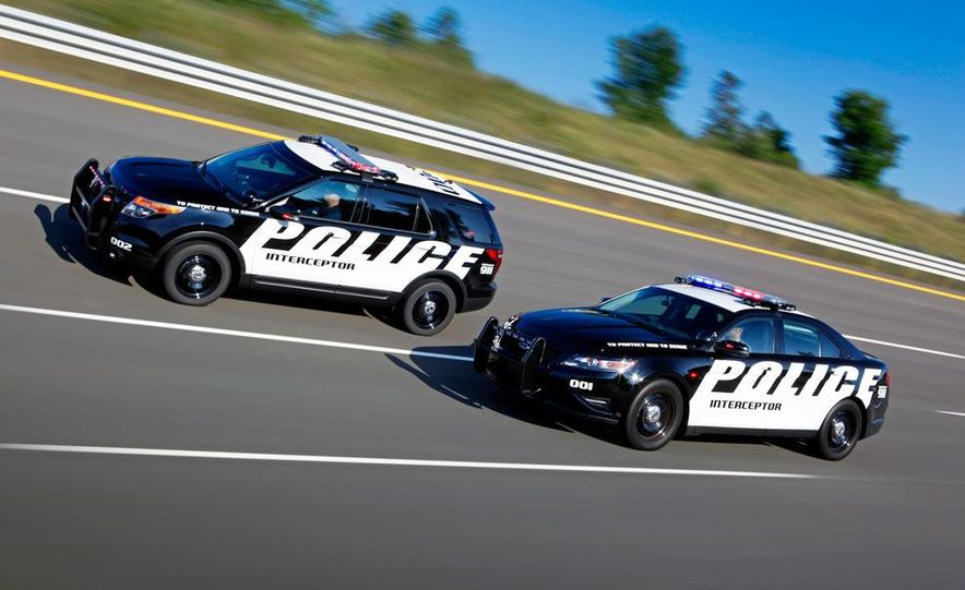 2012 Police Interceptor Utility and Ford Police Interceptor - Slide 8