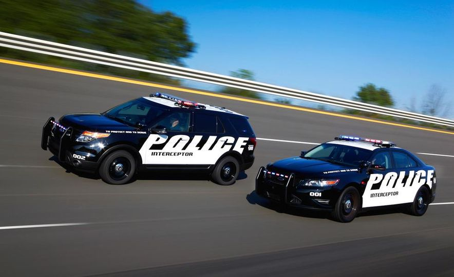 2012 Police Interceptor Utility and Ford Police Interceptor - Slide 9