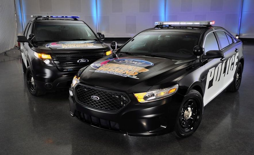 2012 Police Interceptor Utility and Ford Police Interceptor - Slide 10