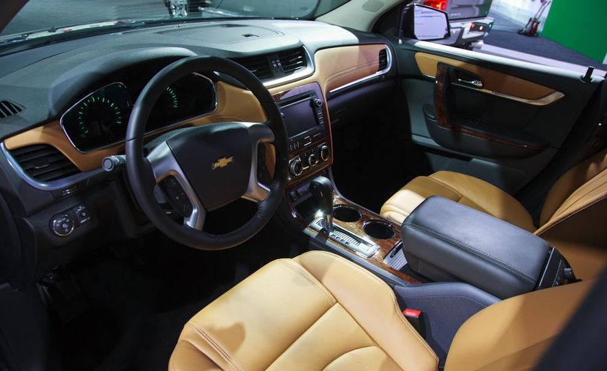 2014 Chevrolet Imapala LTZ - Slide 14