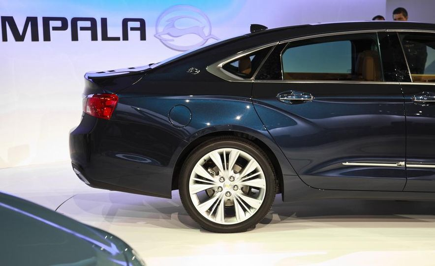 2014 Chevrolet Imapala LTZ - Slide 4