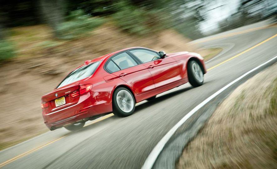 2012 Mercedes-Benz C250 Sport, 2012 Volvo S60 T6 AWD, 2012 Audi A4 2.0T Quattro, 2012 Infiniti G25, and 2012 BMW 328i - Slide 8