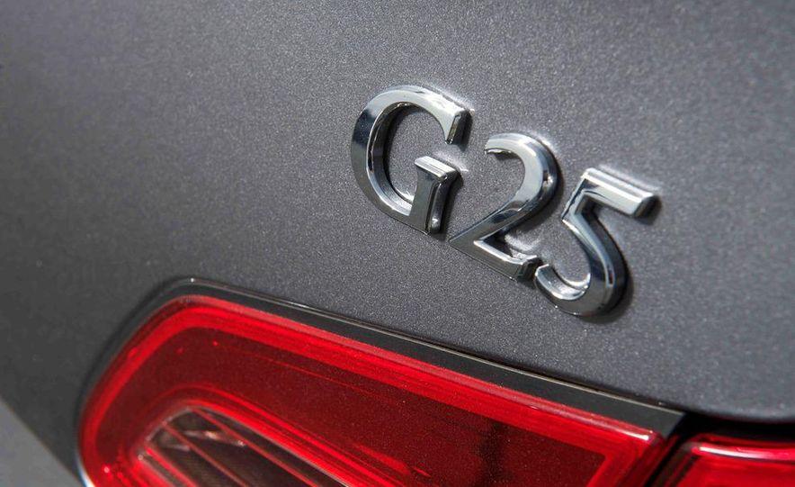 2012 Mercedes-Benz C250 Sport, 2012 Volvo S60 T6 AWD, 2012 Audi A4 2.0T Quattro, 2012 Infiniti G25, and 2012 BMW 328i - Slide 26