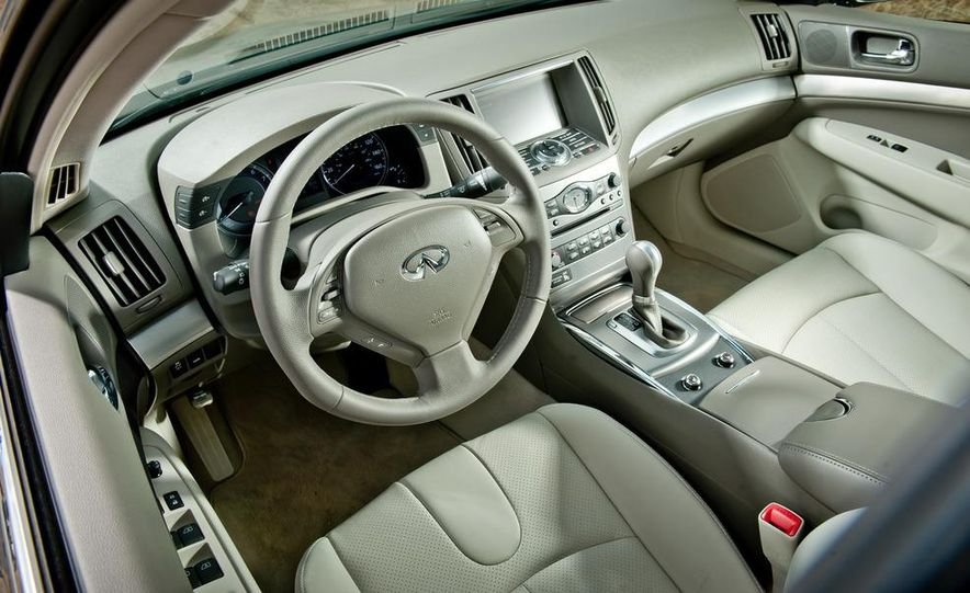 2012 Mercedes-Benz C250 Sport, 2012 Volvo S60 T6 AWD, 2012 Audi A4 2.0T Quattro, 2012 Infiniti G25, and 2012 BMW 328i - Slide 27