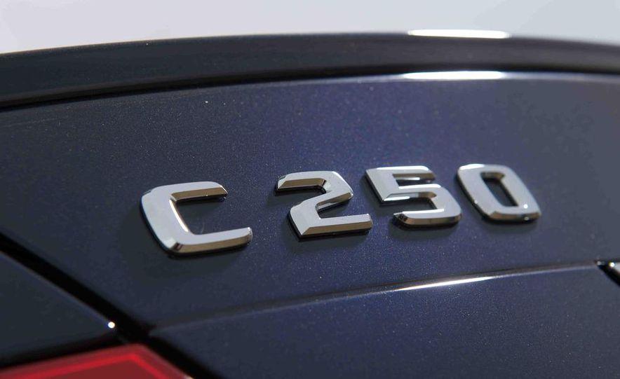2012 Mercedes-Benz C250 Sport, 2012 Volvo S60 T6 AWD, 2012 Audi A4 2.0T Quattro, 2012 Infiniti G25, and 2012 BMW 328i - Slide 34