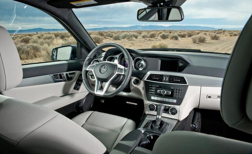 2012 Mercedes-Benz C250 Sport, 2012 Volvo S60 T6 AWD, 2012 Audi A4 2.0T Quattro, 2012 Infiniti G25, and 2012 BMW 328i - Slide 35