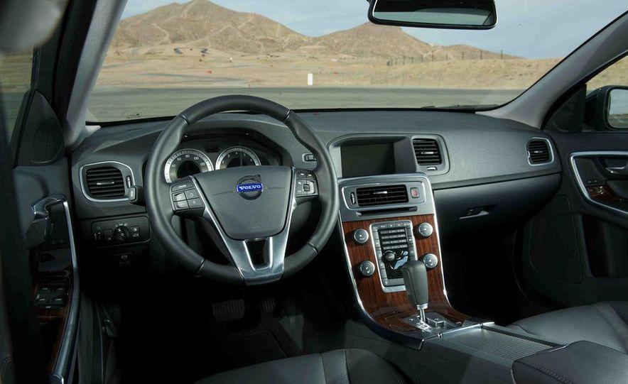2012 Mercedes-Benz C250 Sport, 2012 Volvo S60 T6 AWD, 2012 Audi A4 2.0T Quattro, 2012 Infiniti G25, and 2012 BMW 328i - Slide 42