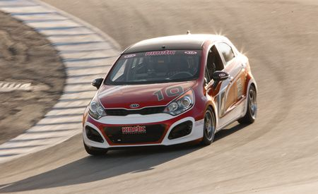 No. 10 Kinetic Motorsports Kia Rio5
