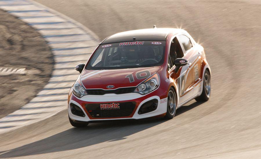 No. 10 Kinetic Motorsports Kia Rio5