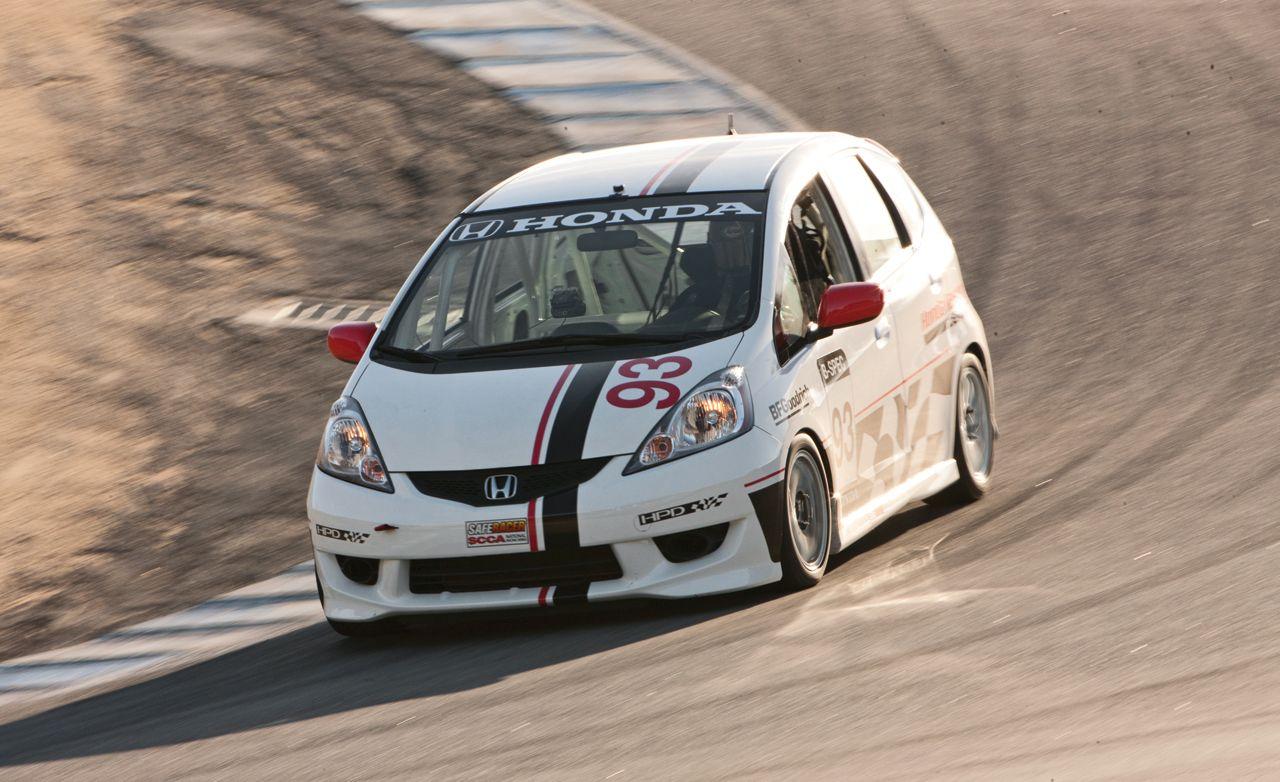 No. 93 Honda Racing Fit