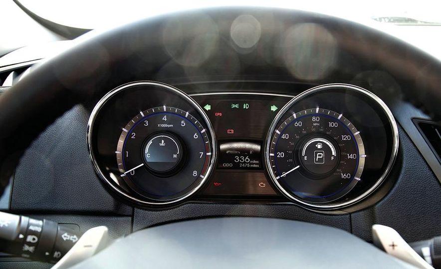 2012 Volkswagen Passat 2.5 SE, 2012 Honda Accord EX-L, 2012 Hyundai Sonata SE, 2012 Toyota SE, 2012 Kia Optima EX, and 2013 Chevrolet Malibu Eco - Slide 55