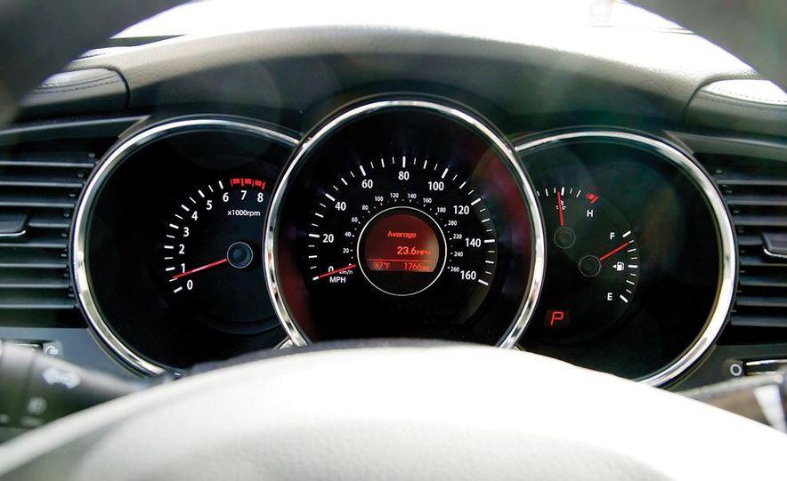 2012 Volkswagen Passat 2.5 SE, 2012 Honda Accord EX-L, 2012 Hyundai Sonata SE, 2012 Toyota SE, 2012 Kia Optima EX, and 2013 Chevrolet Malibu Eco - Slide 38
