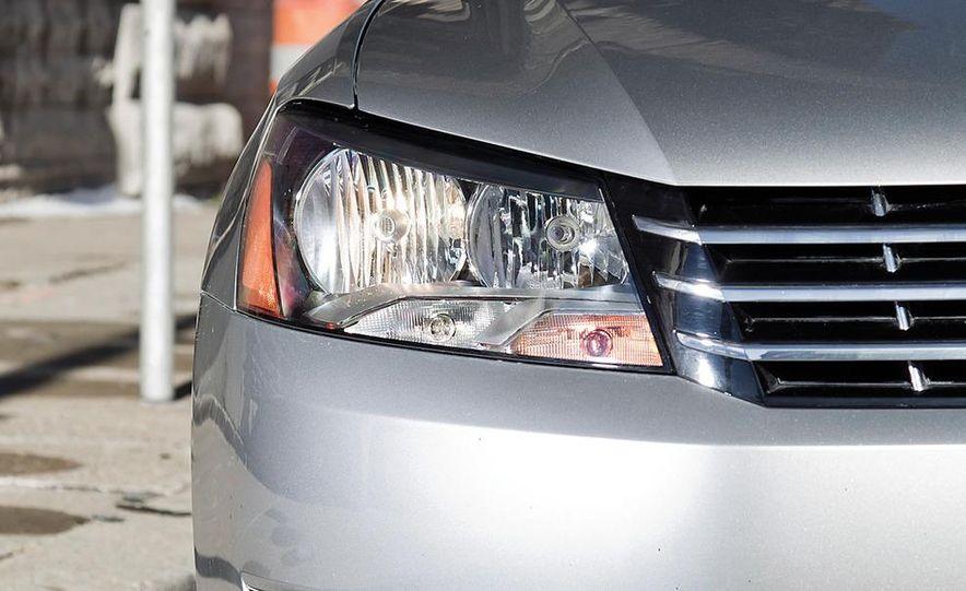 2012 Volkswagen Passat 2.5 SE, 2012 Honda Accord EX-L, 2012 Hyundai Sonata SE, 2012 Toyota SE, 2012 Kia Optima EX, and 2013 Chevrolet Malibu Eco - Slide 8