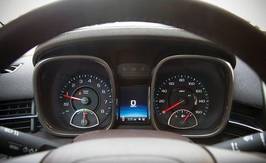 2012 Volkswagen Passat 2.5 SE, 2012 Honda Accord EX-L, 2012 Hyundai Sonata SE, 2012 Toyota SE, 2012 Kia Optima EX, and 2013 Chevrolet Malibu Eco - Slide 76