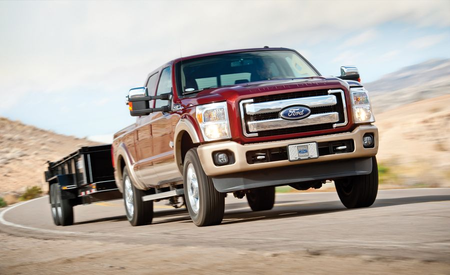 2012 Ford F-250 Super Duty King Ranch 4x4 Crew Cab