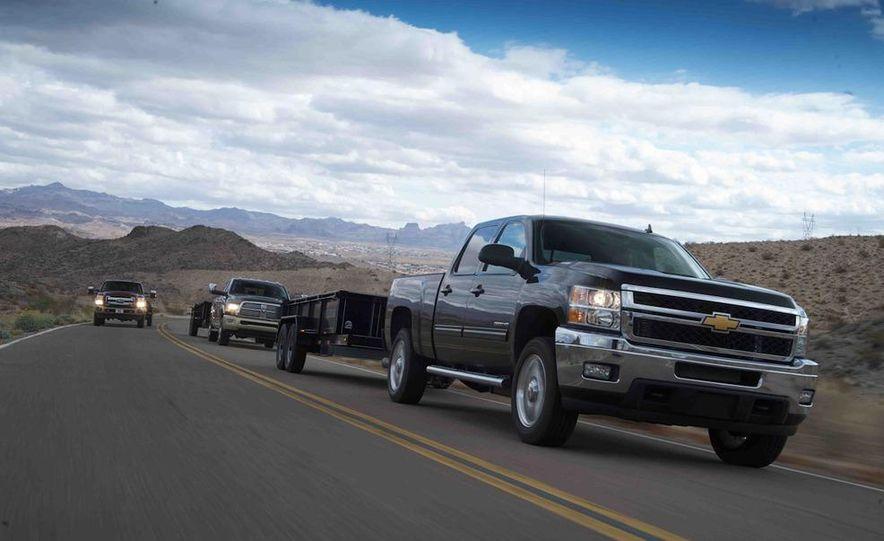 2012 Ford F-250 Super Duty King Ranch 4x4 crew cab and 2012 Chevrolet Silverado 2500 LTZ 4WD crew cab - Slide 6