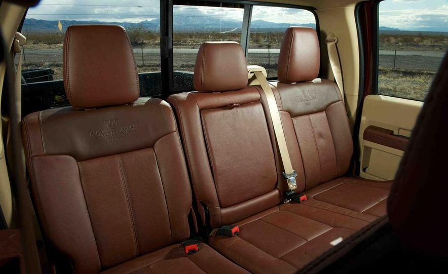 2012 Ford F-250 Super Duty King Ranch 4x4 crew cab and 2012 Chevrolet Silverado 2500 LTZ 4WD crew cab - Slide 25