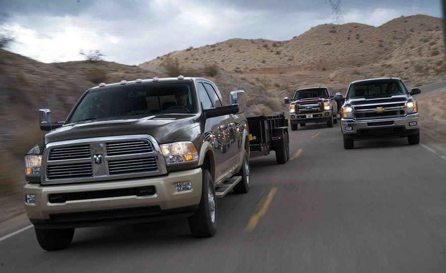 2012 Ford F-250 Super Duty King Ranch 4x4 crew cab and 2012 Chevrolet Silverado 2500 LTZ 4WD crew cab - Slide 4