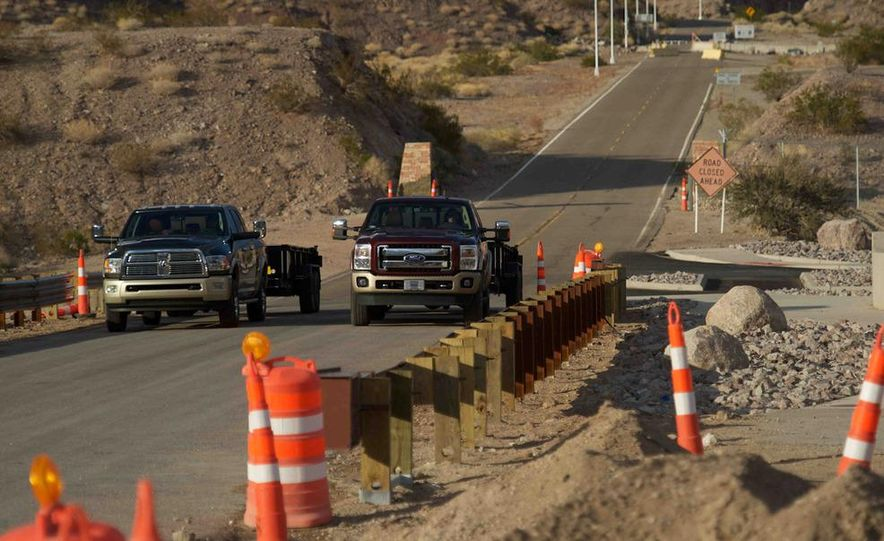 2012 Ford F-250 Super Duty King Ranch 4x4 crew cab and 2012 Chevrolet Silverado 2500 LTZ 4WD crew cab - Slide 10