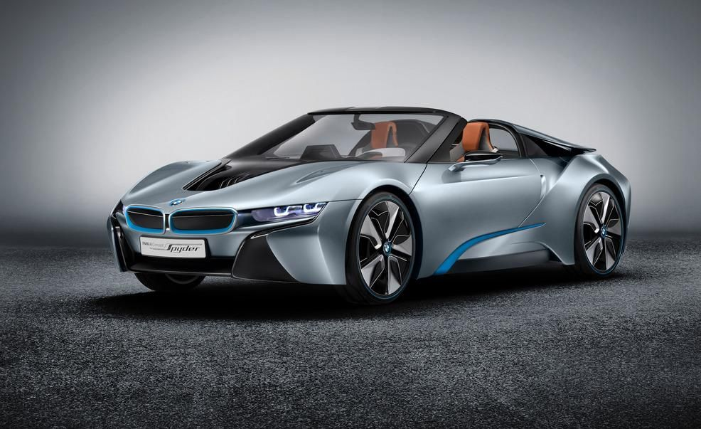 BMW i8 Concept Spyder Photos and Info | Car news | Car and Driver