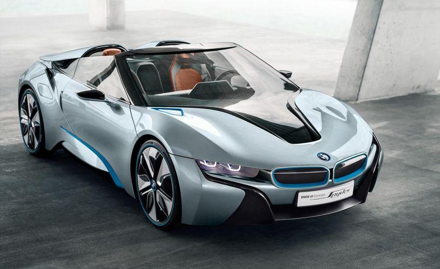 BMW i8 Concept Spyder - Slide 16