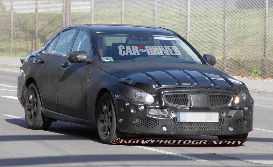 2015 Mercedes-Benz C-class (spy photo) - Slide 5
