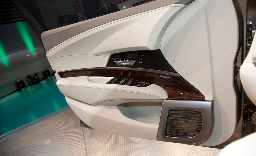 2014 Acura RLX SH-AWD concept - Slide 16