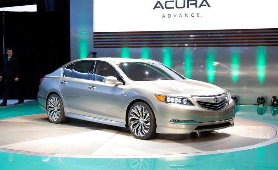 2014 Acura RLX SH-AWD concept - Slide 2