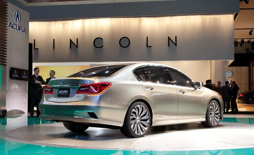 2014 Acura RLX SH-AWD concept - Slide 5
