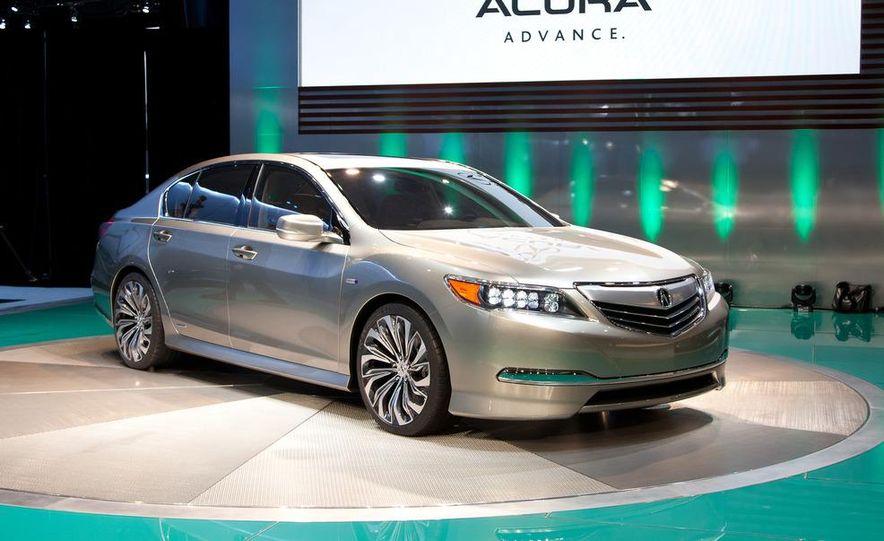 2014 Acura RLX SH-AWD concept - Slide 7
