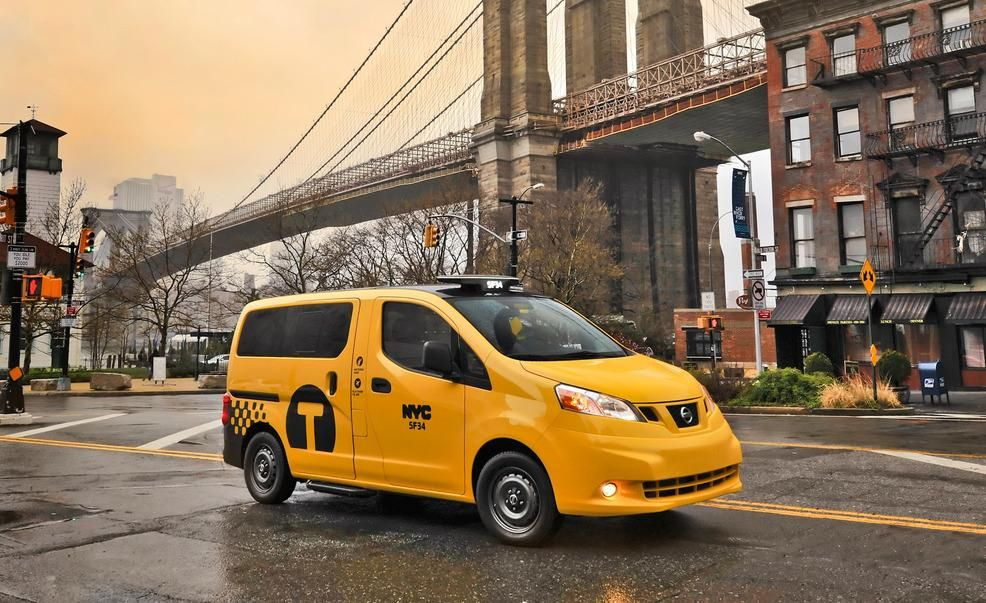 2014 Nissan Nv200 Taxi Photos And Info News Car And Driver