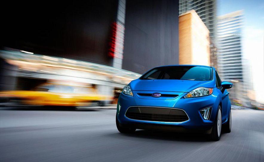 2014 Ford Fiesta hatchback (spy photo) - Slide 21
