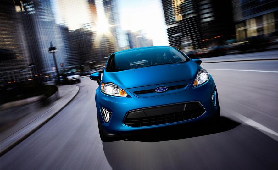 2014 Ford Fiesta hatchback (spy photo) - Slide 23