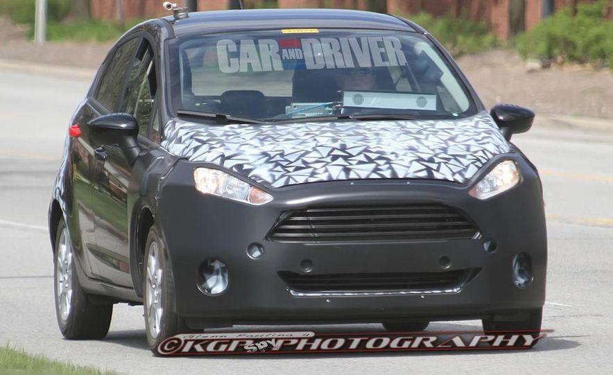2014 Ford Fiesta hatchback (spy photo) - Slide 4