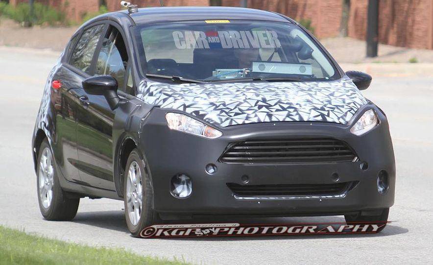 2014 Ford Fiesta hatchback (spy photo) - Slide 5