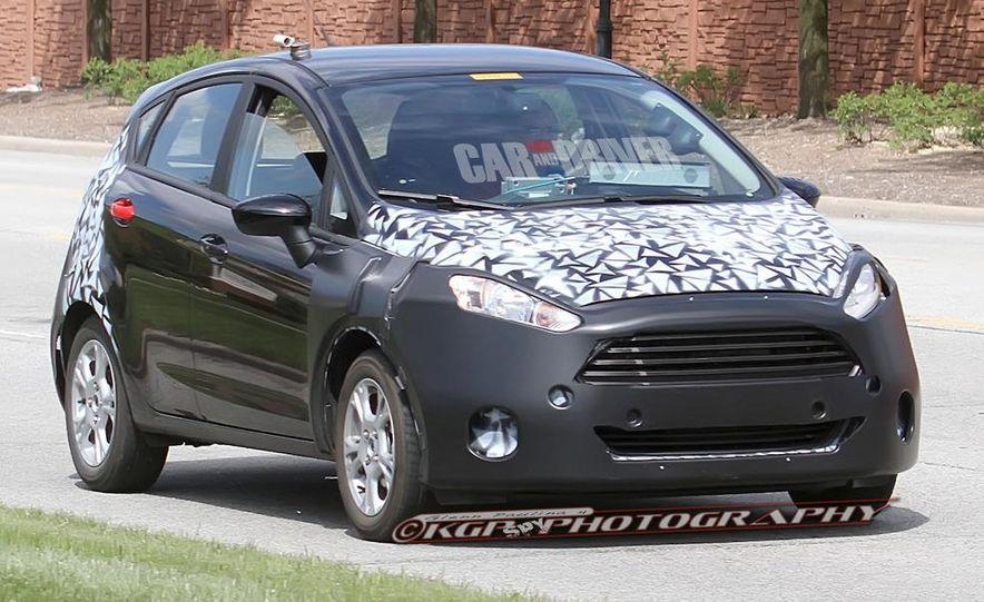 2014 Ford Fiesta hatchback (spy photo) - Slide 6