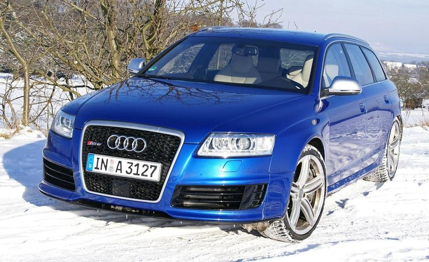2014 Audi RS6 Avant (spy photo) - Slide 11