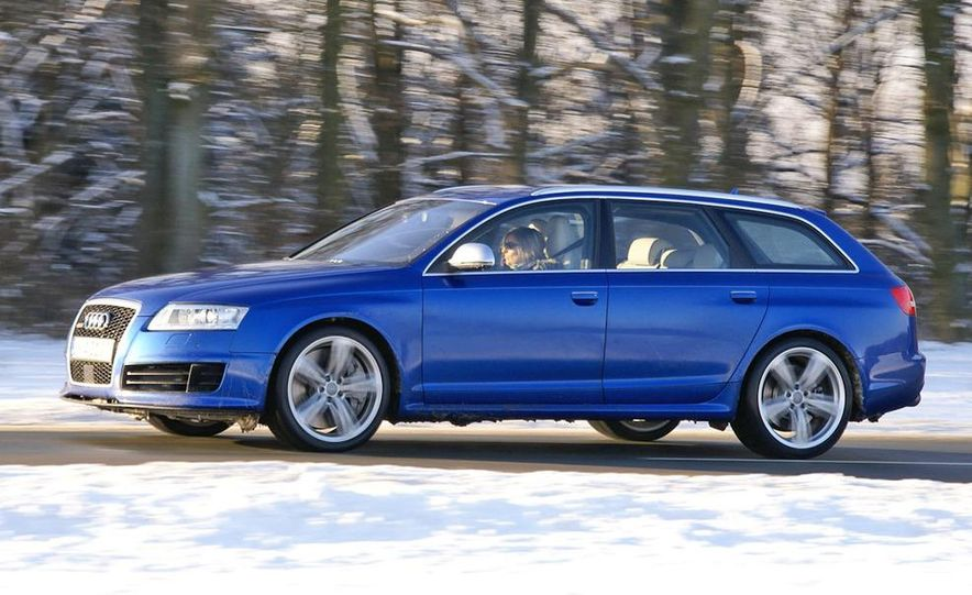 2014 Audi RS6 Avant (spy photo) - Slide 12