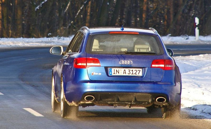 2014 Audi RS6 Avant (spy photo) - Slide 13