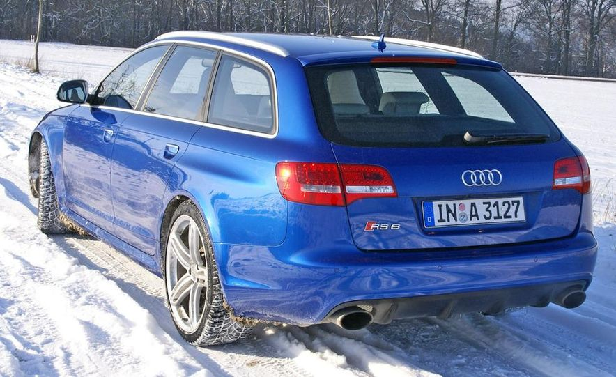 2014 Audi RS6 Avant (spy photo) - Slide 19