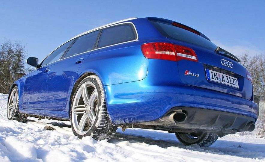 2014 Audi RS6 Avant (spy photo) - Slide 24