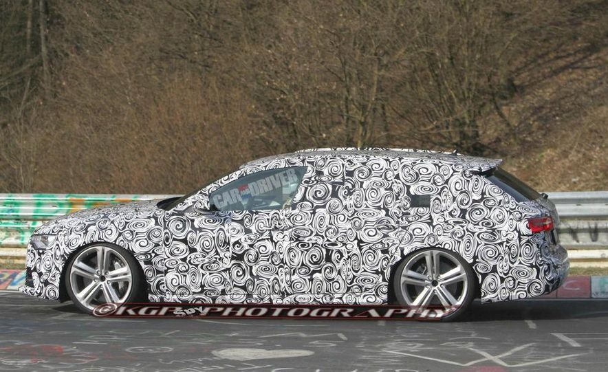 2014 Audi RS6 Avant (spy photo) - Slide 1