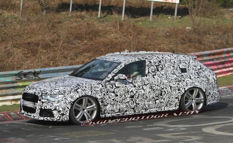 2014 Audi RS6 Avant (spy photo) - Slide 2