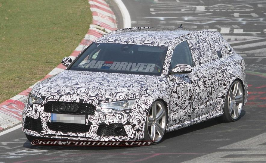 2014 Audi RS6 Avant (spy photo) - Slide 3