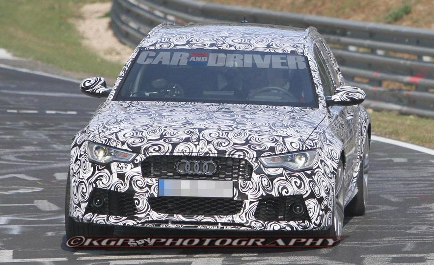 2014 Audi RS6 Avant (spy photo) - Slide 4