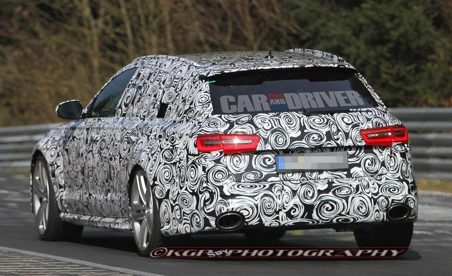 2014 Audi RS6 Avant (spy photo) - Slide 5